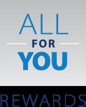 All for You Rewards Logo